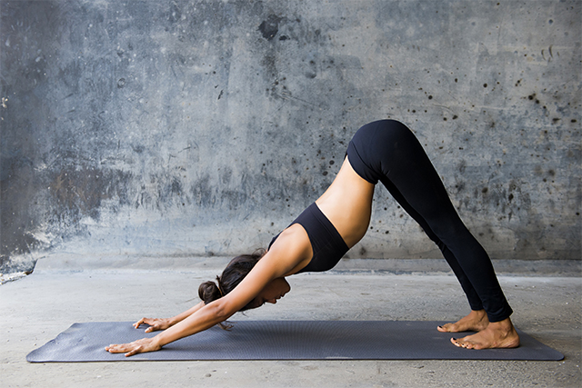 how to do downward facing dog