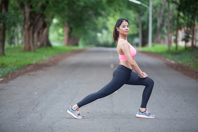 how to do lunges workout exercise