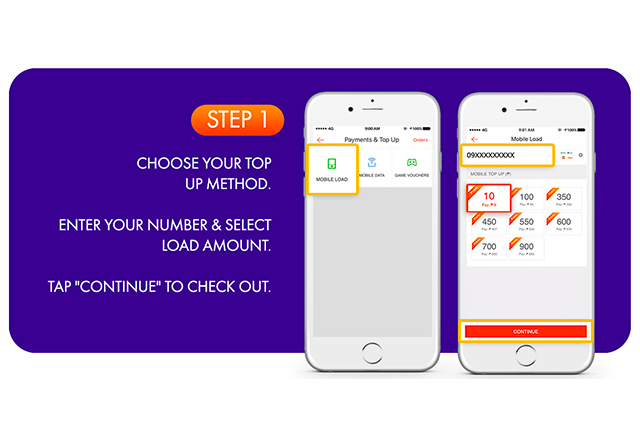 how to use load and evouchers on shopee