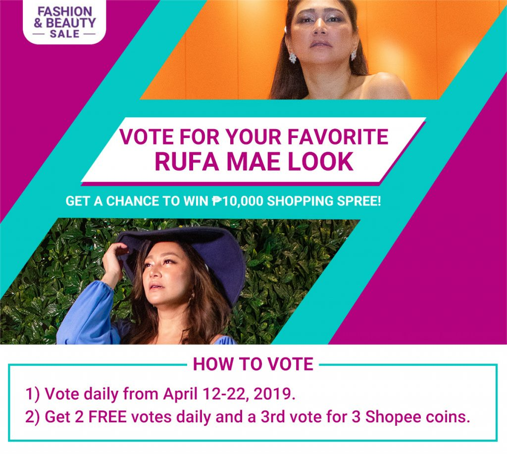 Vote for your favorite rufa mae look