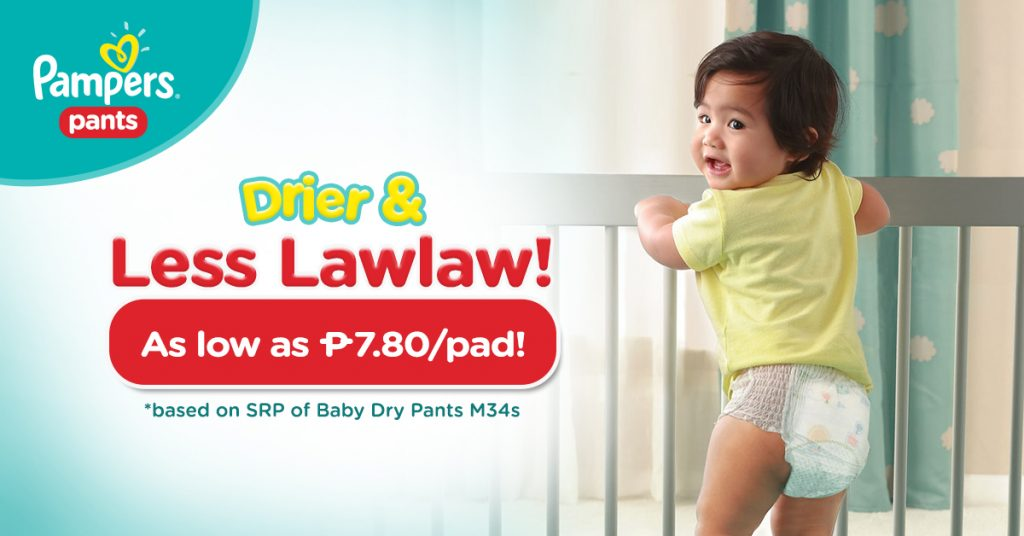 PAMPERS Diapers Shopee