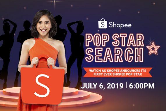 shopee popstar search